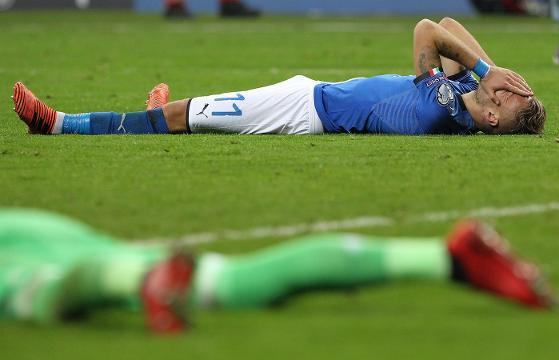 Italy misses first World Cup since 1958