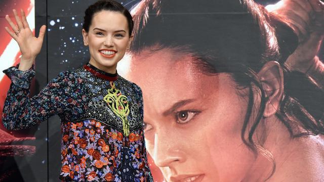 Daisy Ridley talks porgs love and that 'Last Jedi' scream