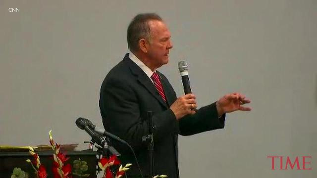 Moore claims 'spiritual battle' in U.S. politics