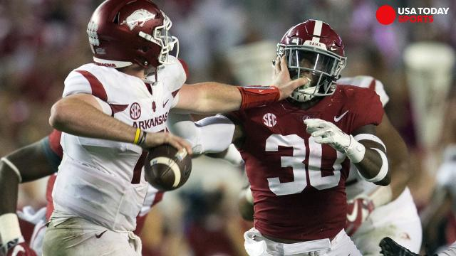 Playoff rankings: Does Alabama deserve to be No. 1?