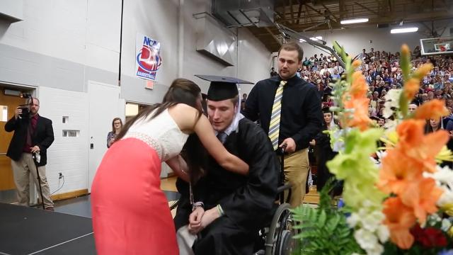 Once paralyzed, Chris Norton vows to walk his fiancee down the aisle