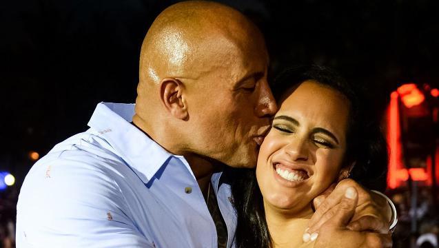 Dwayne Johnson's daughter named Golden Globe Ambassador