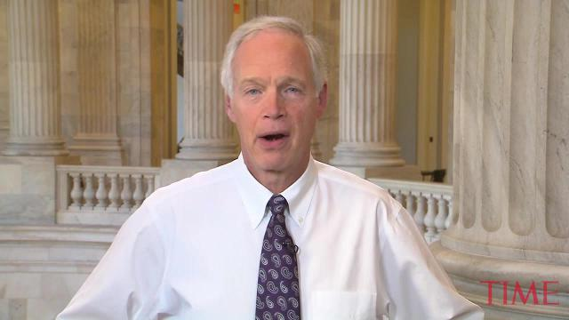 Sen. Ron Johnson is the first Republican to defect on tax bill
