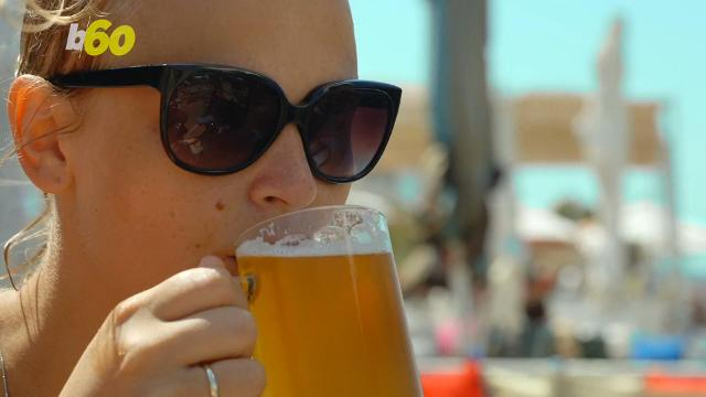Study: Heavy drinkers pay the price with their looks