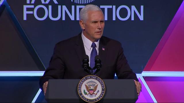 Pence promising tax reform this year