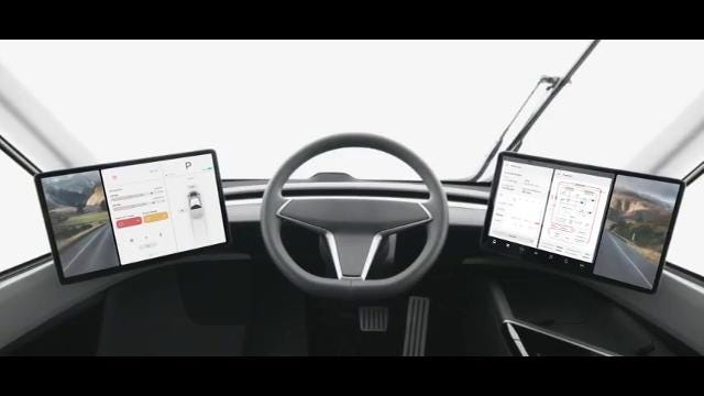 Raw: Tesla introduces new electric truck - Clip