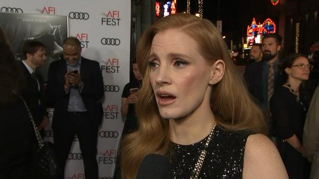 Chastain: Sorkin always ahead of his time