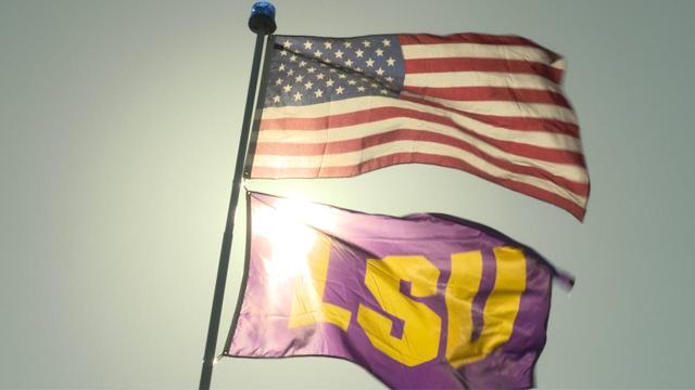America's best tailgate goes to the die-hard LSU fans down in Baton Rouge. And you'll see why.