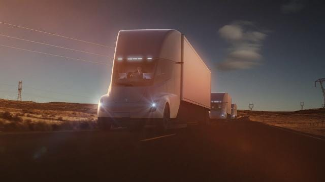 Why Tesla's new electric Semi is such a big deal