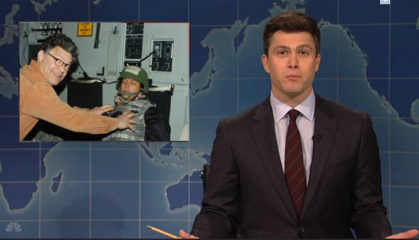 'SNL': Collusion becomes confusion when Trump sons meet WikiLeaks founder