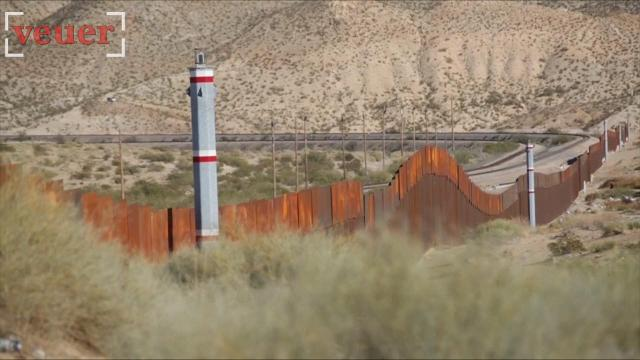 Official says border agent hit by rock or rocks