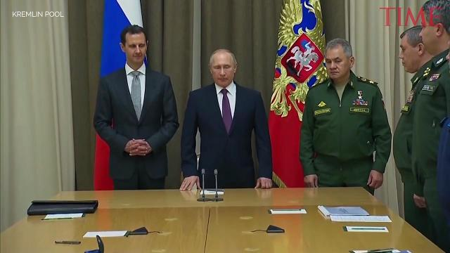 Putin: Russia to end military operation in Syria