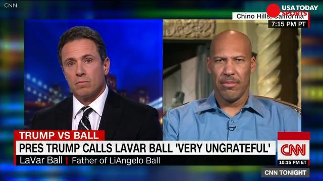 LaVar Ball talks Trump in epic CNN interview