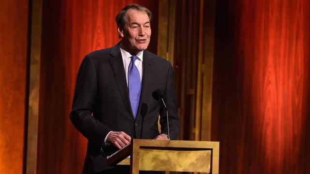 CBS suspends Charlie Rose; PBS halts his show after allegations