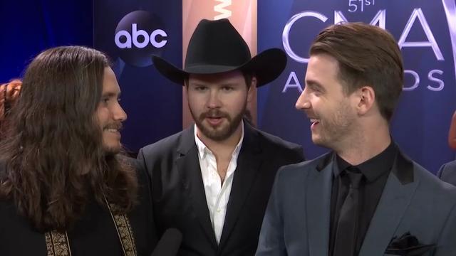 Country stars talk turkey