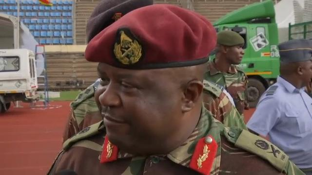 Military Dress Rehearsal for New Zimbabwe Leader