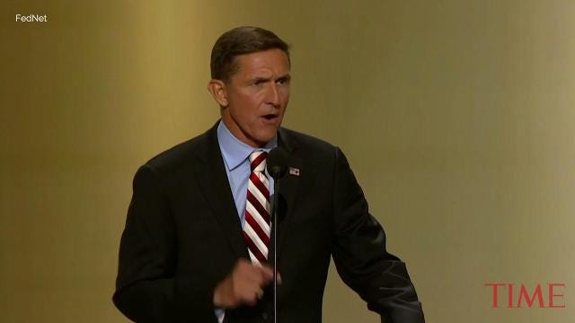 Michael Flynn's lawyers end communications with President Trump's team