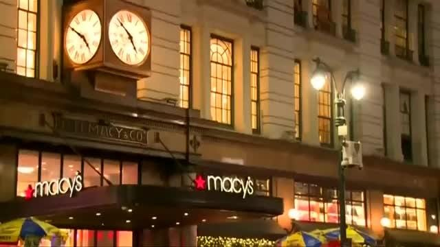 Throngs of shoppers turn out for 'Black Friday' bargains