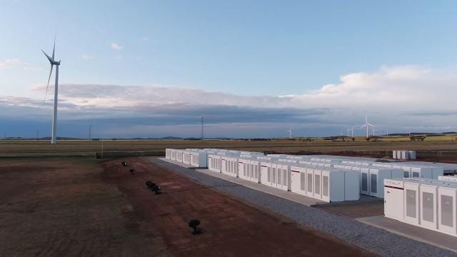 Tesla's mega battery in Australia may have come at a really good time
