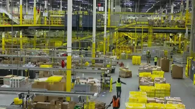 Amazon shares jump on predictions for record Cyber Monday