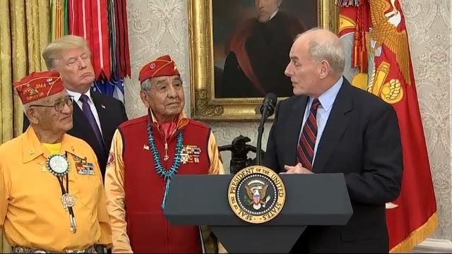 Trump Makes 'Pocahontas' Jab At Navajos Event