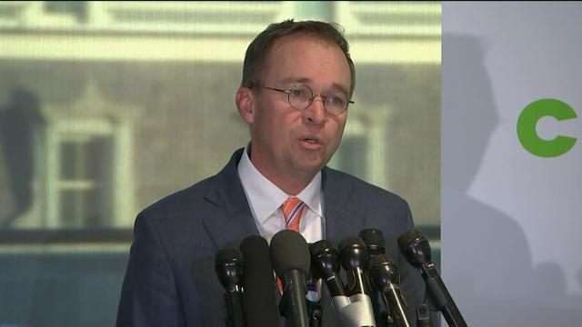 Mulvaney: Only One Director Came to CFPB Office