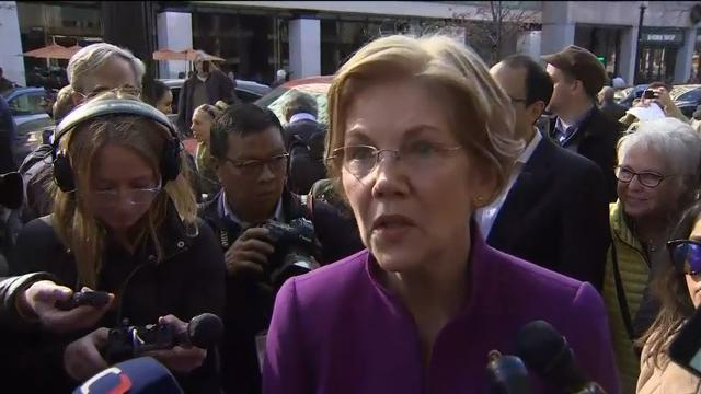 Warren defends CFPB, condemns Trump's 'slur'