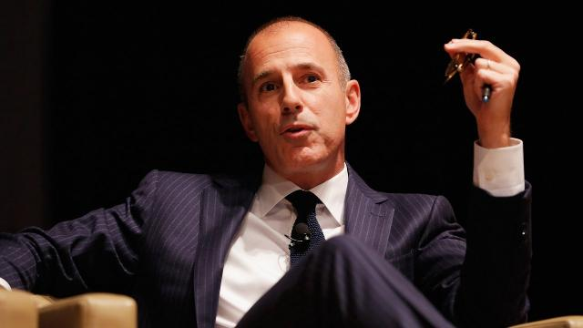 Matt Lauer fired by NBC News over sexual misconduct allegations