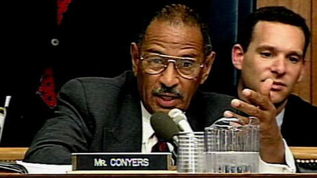 Congressman John Conyers admitted to hospital