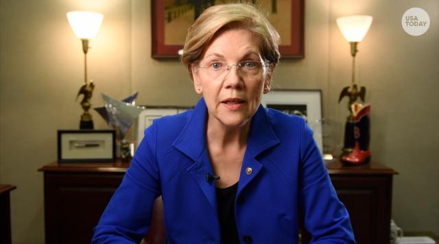 Sen. Elizabeth Warren explains the CFPB director drama