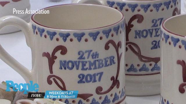 Sealed with a kiln! See Harry & Meghan's commemorative engagement mug