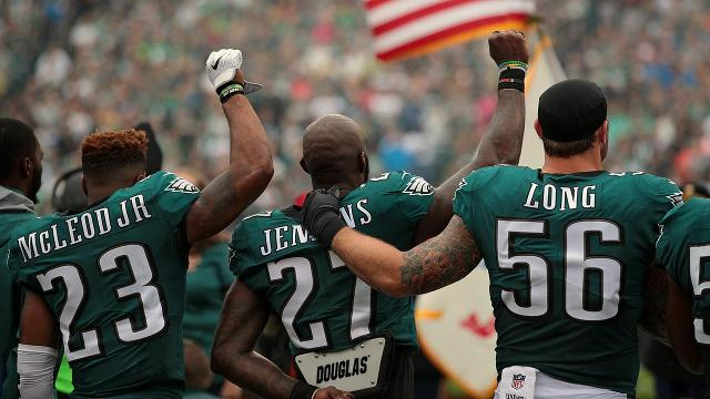 Eagles Safety Malcolm Jenkins Won't Raise Fist During National Anthem Anymore