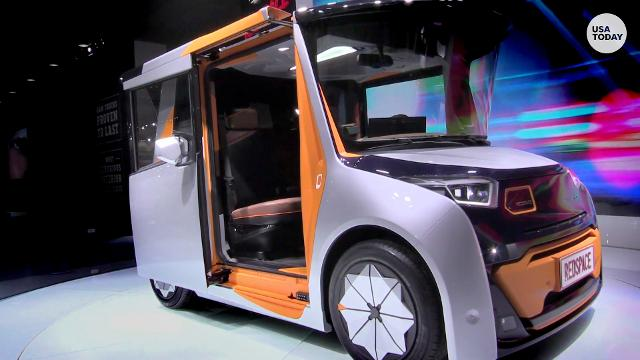 6 of the oddest concepts from LA's Auto Show