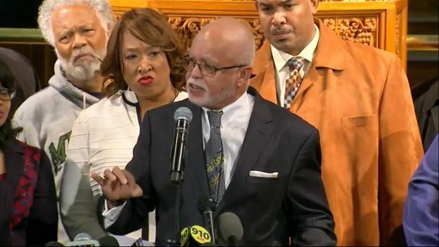 Rally in Support of Michigan Congressman Conyers