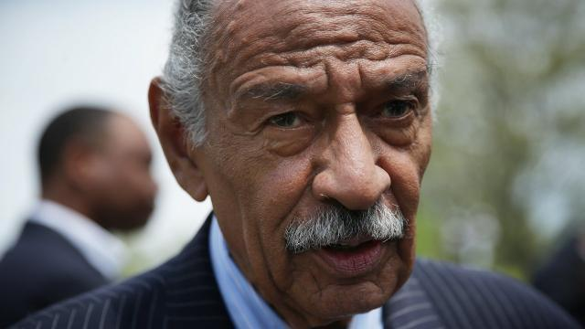 Rep. Conyers expected to make announcement amid a new accusation