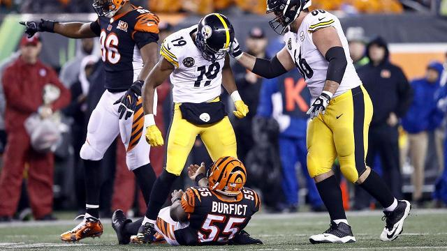 Steelers Vs Bengals Did Violent Hits Make Game Too Tough To Watch