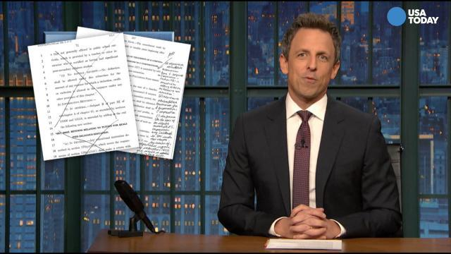 Jimmy Fallon, Seth Meyers, Conan O'Brien take on tax bill in Best of Late Night