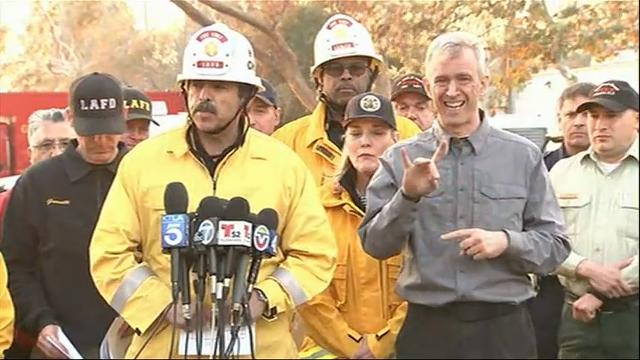 Authorities urge Southern California residents to flee their homes