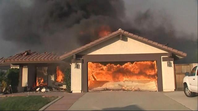 Devastating wildfires strike Southern California