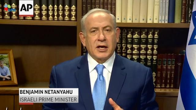 Netanyahu and Abbas React to Trump's Declaration