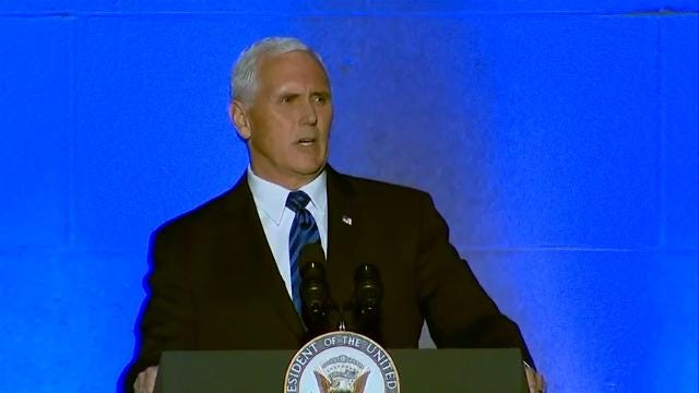 Pence: Under Trump, 'America Stands with Israel'