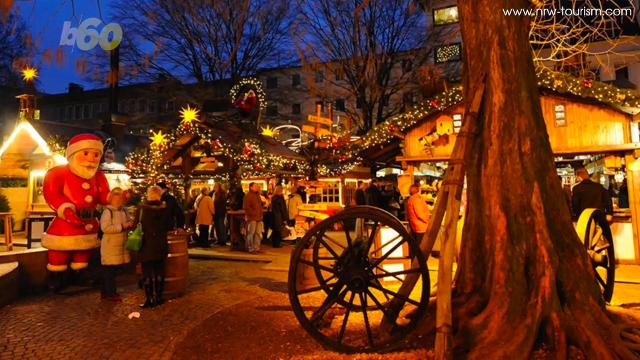 German Christmas Market.German Town Begs Tourists To Stay Away From Its Holiday Market