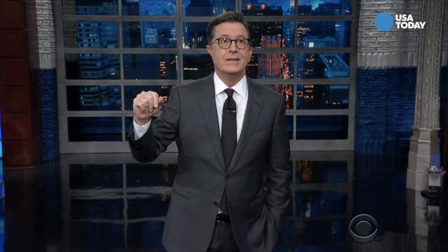 Comics on Trump's 'Time' magazine contribution in Best of Late Night