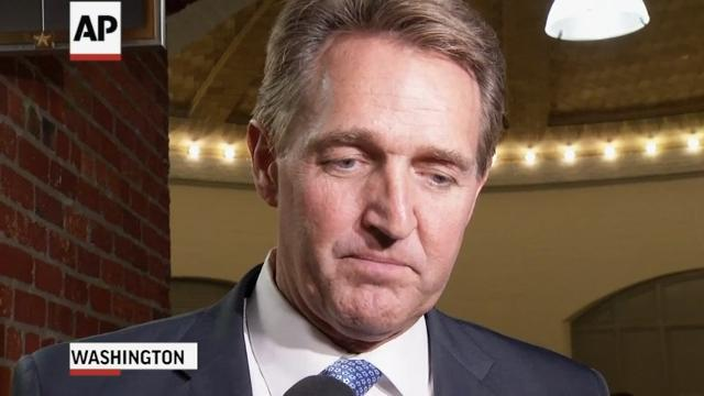 Sen. Flake: Franken is a Friend, Did Right Thing