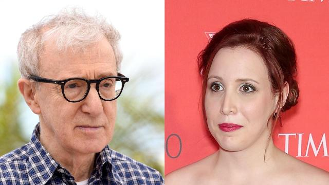 Dylan Farrow asks why Woody Allen, who she's accused of sexual abuse, has been 'spared'