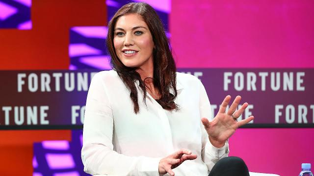 Hope Solo announced she's running for president of the U.S. Soccer Federation in an essay posted to Facebook on Friday.
