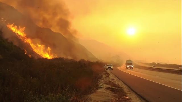 Wildfires sweeping Southern California put millions on edge