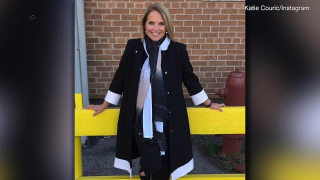 Katie Couric says she will speak out about former partner Matt Lauer