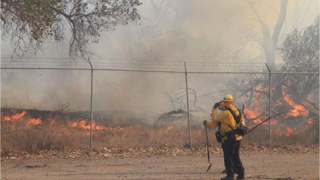 High winds expected to increase fire threat
