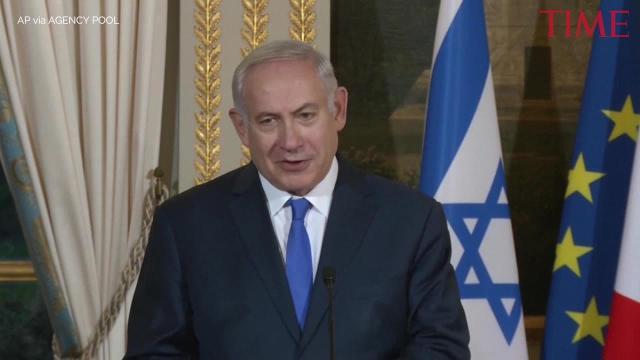 Israeli, French leaders tangle over U.S. Jerusalem decision